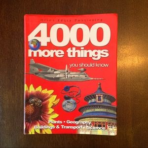 4000 more things you should know book soft cover